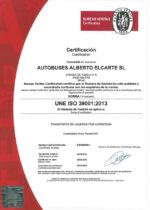 Certificado Seguridad Vial
