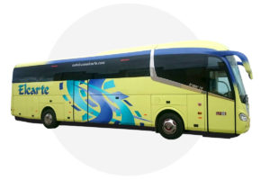 Autobus 55 plazas