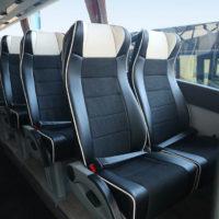 Interior del autobús PREMIUM CLASS de 71 plazas